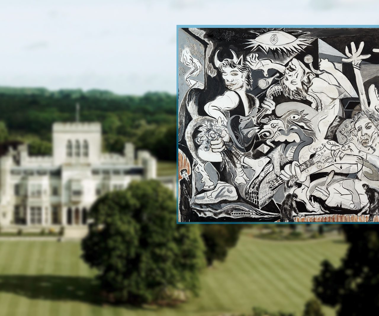 Rolling Stone Ronnie Wood to Exhibit Artworks at Ashridge House