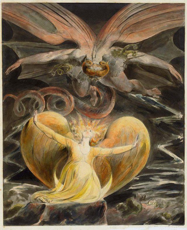 William Blake Red Dragon