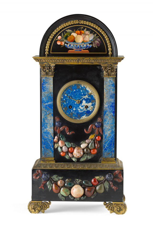 Huziker clock