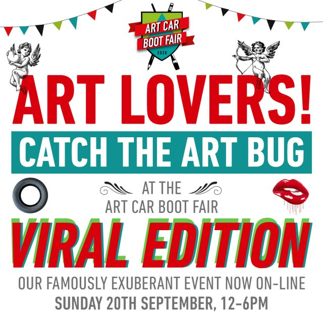 Art Car Boot Fair flyer
