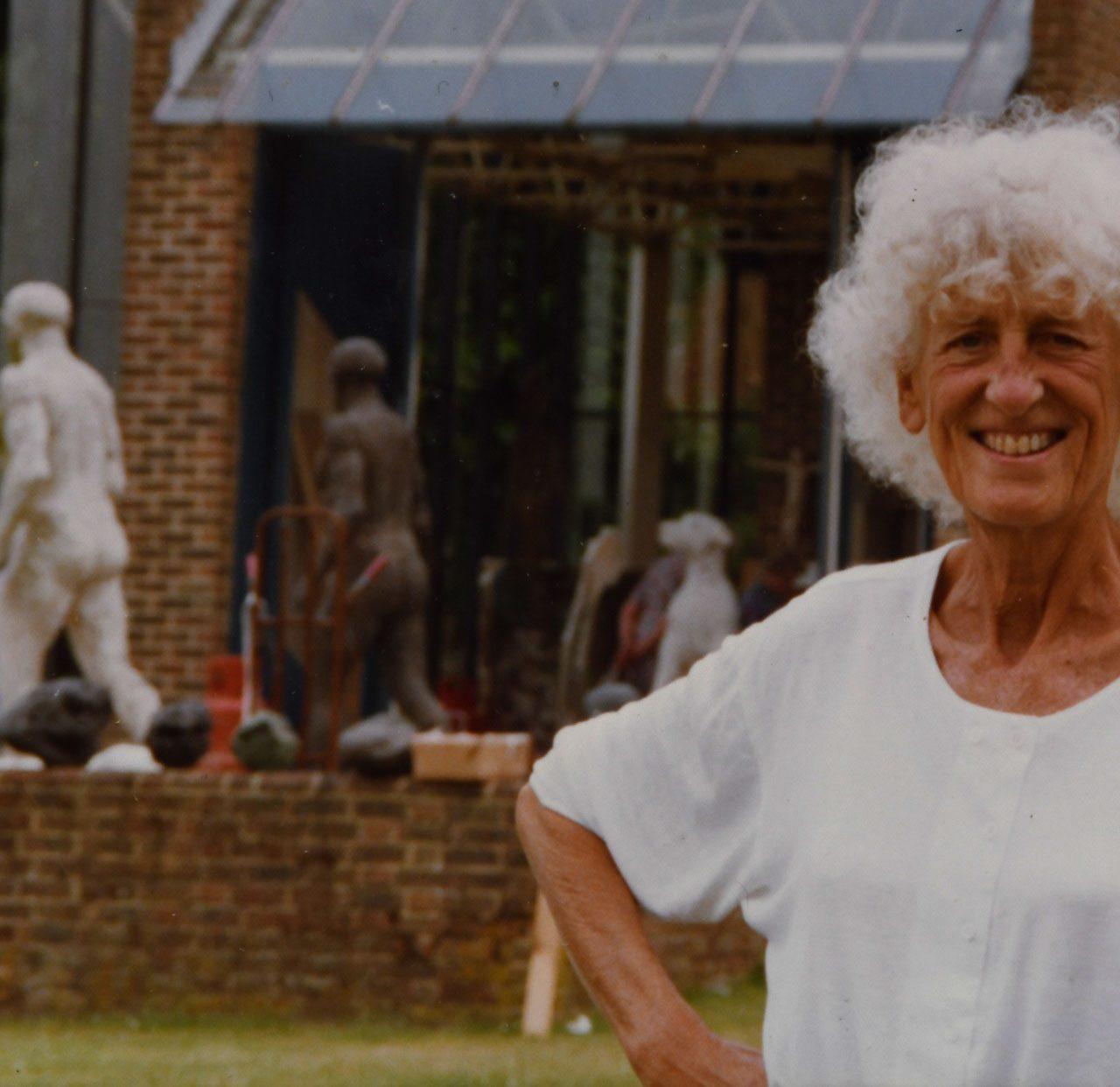 Sculptor Dame Elisabeth Frink's Memorabilia On Sale in Salisbury
