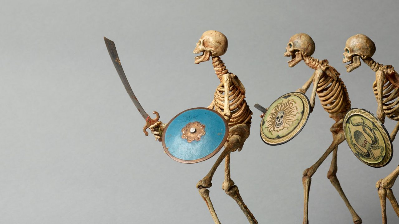 https://www.artsandcollections.com/wp-content/uploads/2020/08/Ray-HARRYHAUSEN-1920-2013-Skeleton-models-from-Jason-and-the-Argonauts-1963-Collection_-The-Ray-and-Diana-Harryhausen-Foundation-Charity-No-1280x720.jpg
