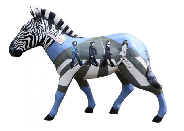 Beatles zebra
