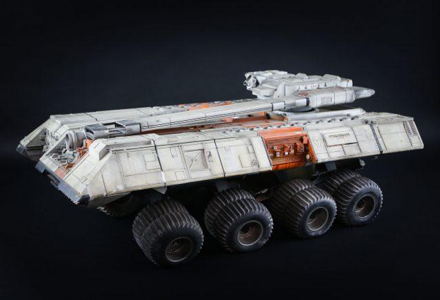 Terrahawks space tank