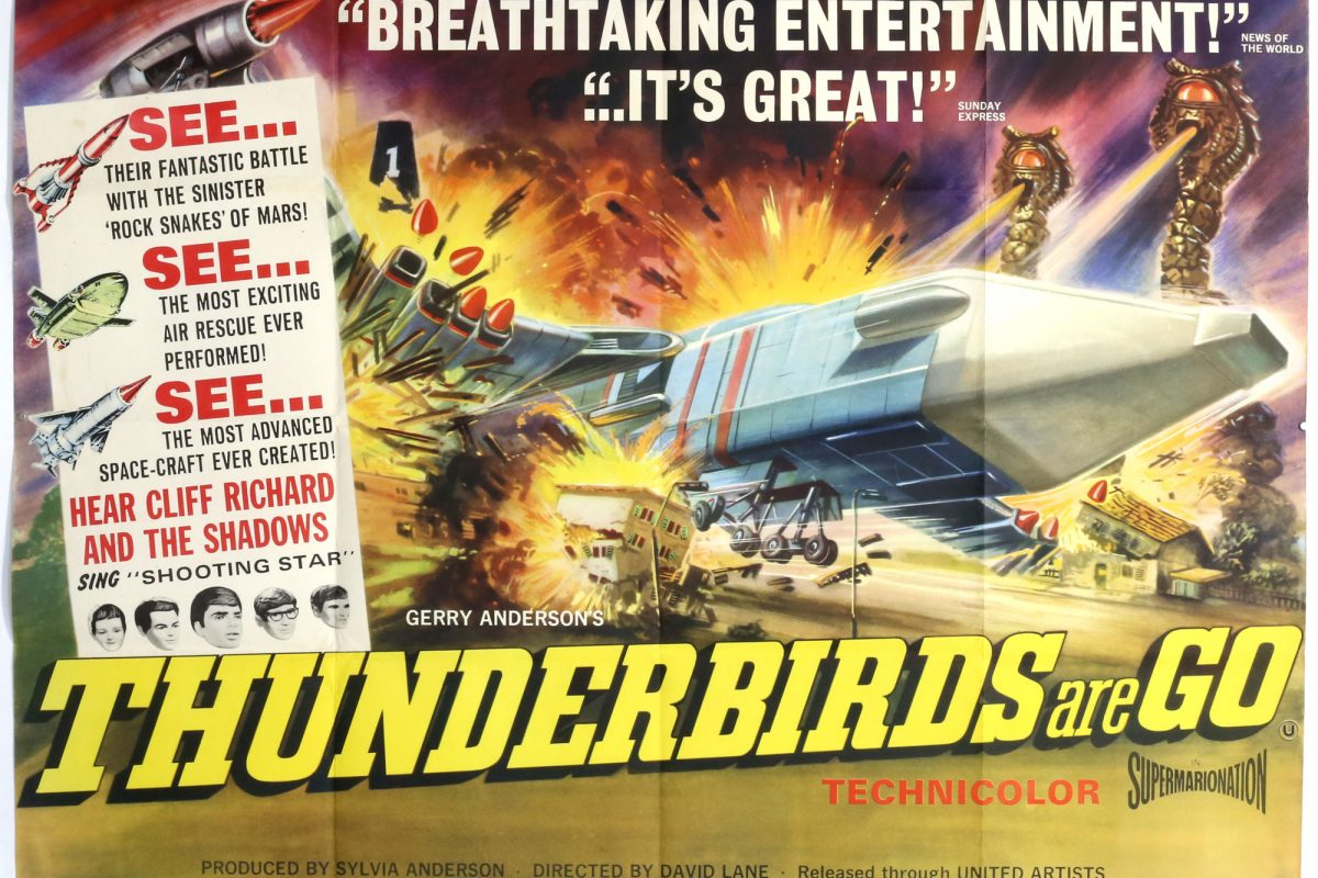 Thunderbirds Are Go at Ewbank's Gerry Anderson Auction