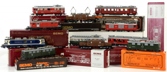 model trains bemo 2