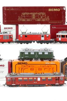 model trains bemo