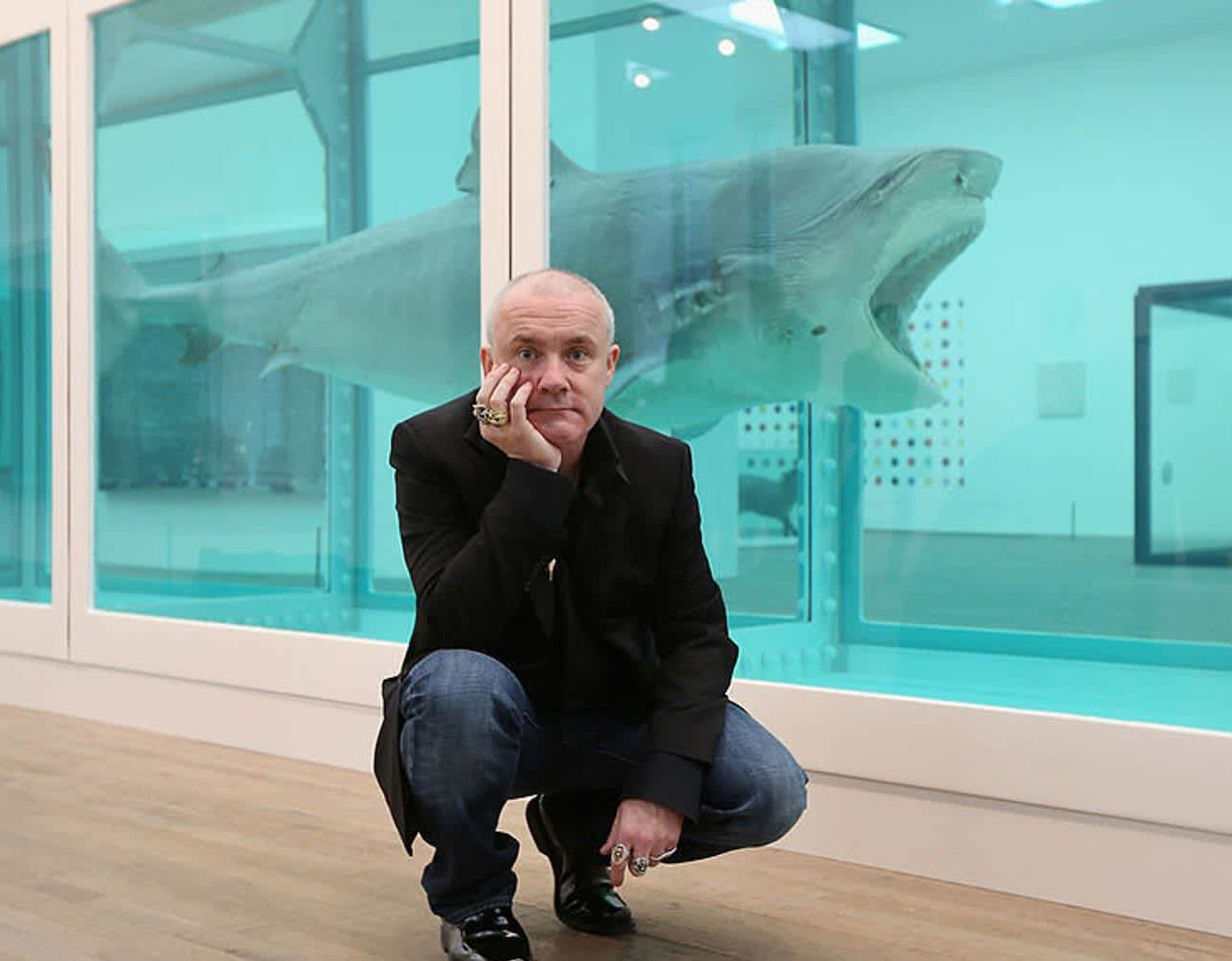 Huge Damien Hirst Exhibition Announced by Newport Street Gallery