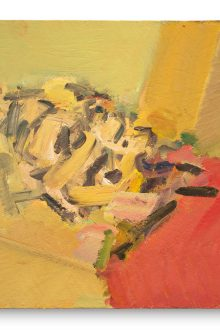 Frank Auerbach - Reclining Head of Julia II - 2011