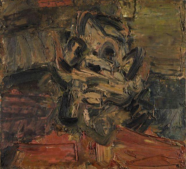 Frank Auerbach - Head of Jym III - 1981