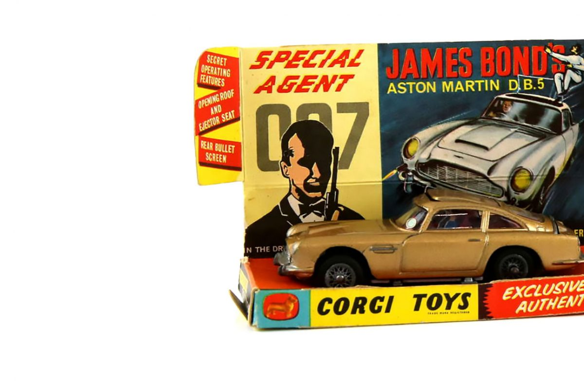 James Bond Centenary Marked by Ewbank's Auction