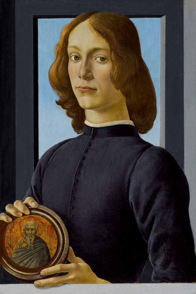 Botticelli Young Man
