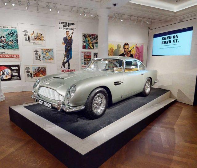 Bond on Bond Street Aston Martin
