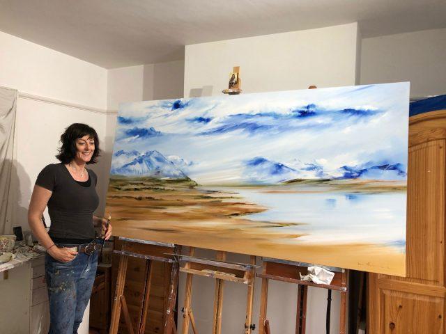 Sara Sherwood studio