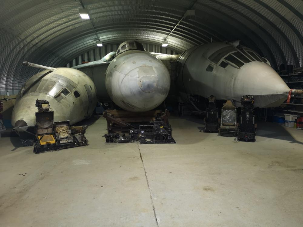 British Warplane History At Risk as V-Bomber Cockpits Come Up For Auction