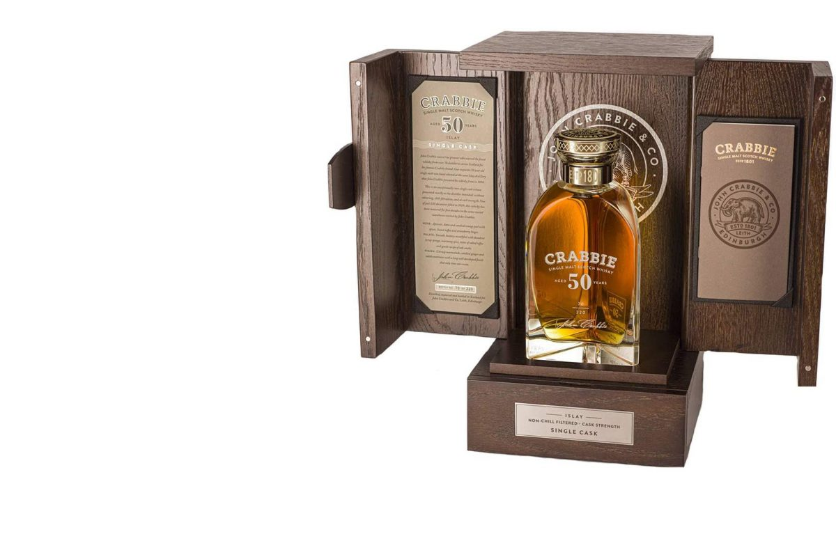 John Crabbie Unveils Limited Edition Rare 50 Year Old Single Malt