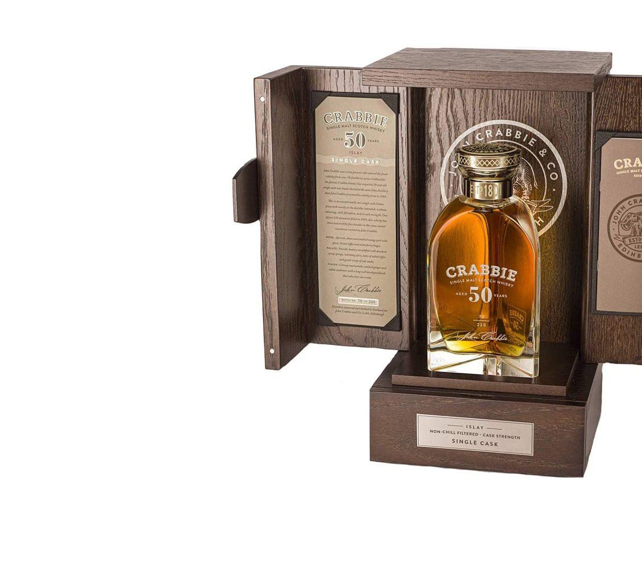 John Crabbie Unveils Limited Edition Rare 50 Year Old Single Malt