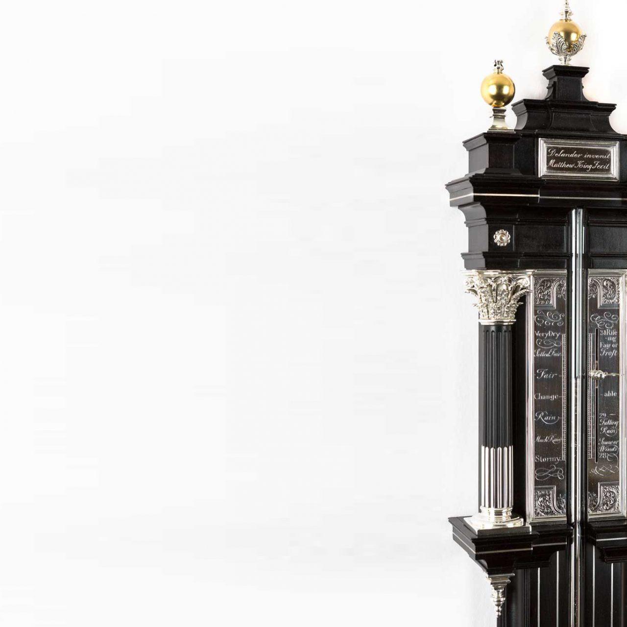 Antiques Expert Reproduces One-of-a-kind Daniel Delander Barometer