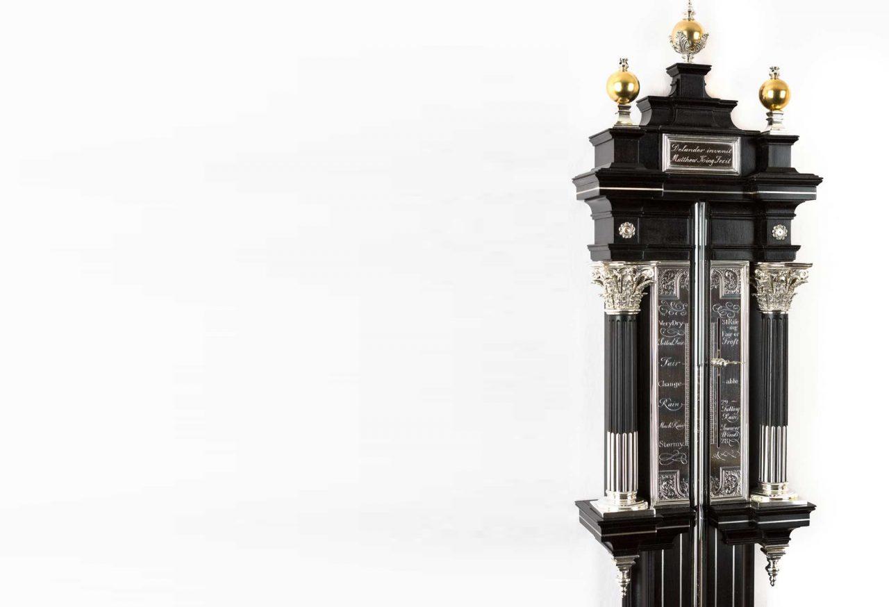 https://www.artsandcollections.com/wp-content/uploads/2021/03/Time-Traveller-Clocks-Delander-barometer-2-Brian-Pearce-Photography-1-1280x874.jpg