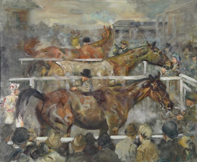 No. 2 First, Second, Third by Michael Lyne (1912-1989). Estimate £1,000-£2,000