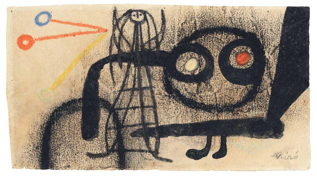 Joan-Miro-,-Untitled,-1949-(C)-S-uccessió-Miró-ADAGP,-Paris-and-DACS-London-2021.-Courtesy-Galerie-Lelong-&-Co.-Paris