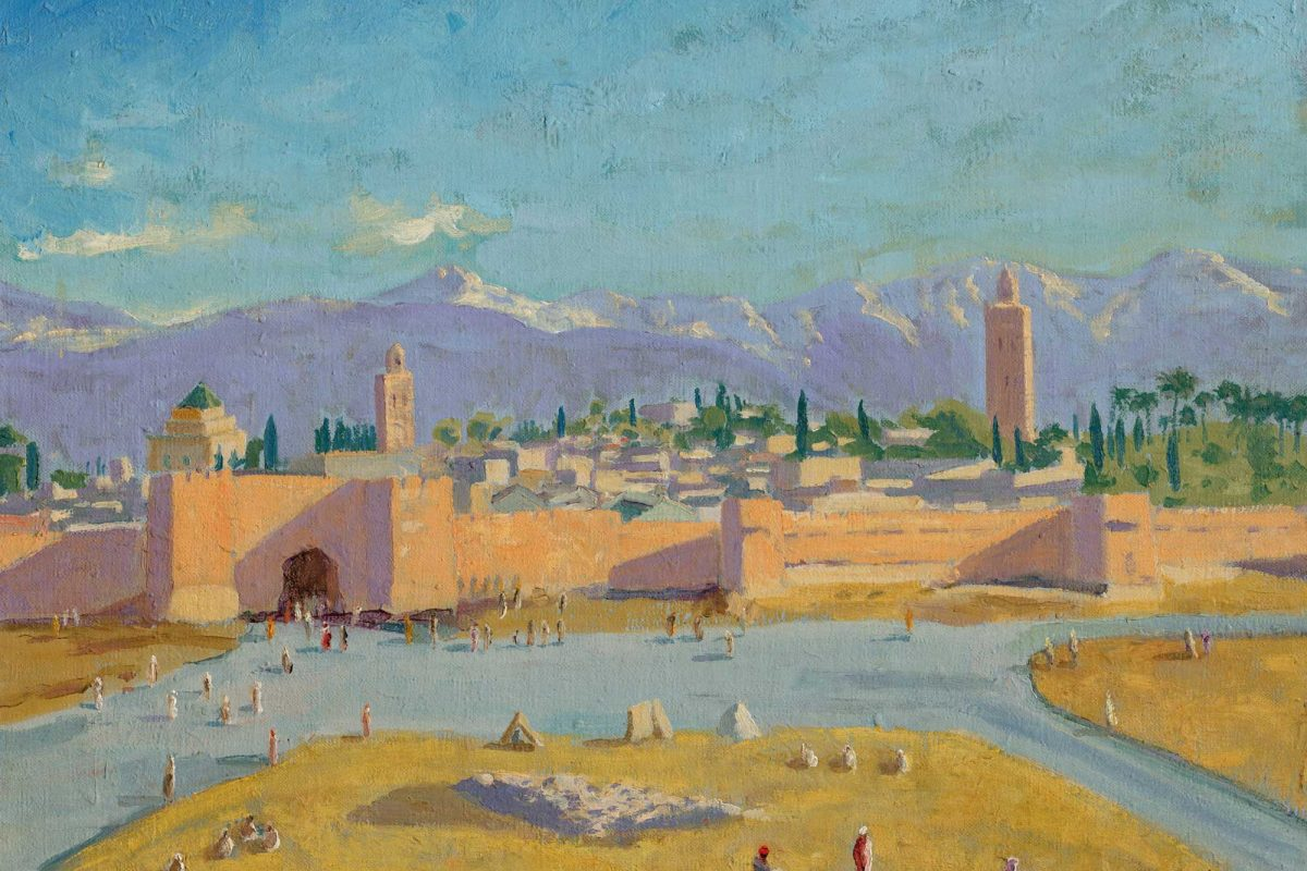 Winston Churchill's Art and His Inspiration to Paint