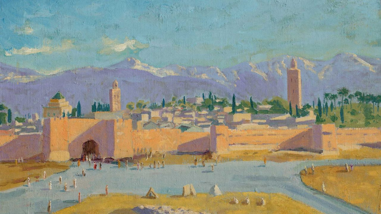 https://www.artsandcollections.com/wp-content/uploads/2021/04/sir_winston_churchill_om_ra_tower_of_the_koutoubia_mosque-1280x720.jpg