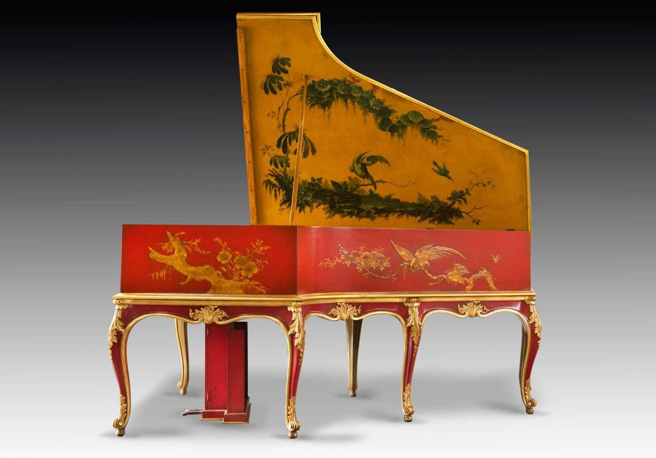 Dreweatts piano chinoisierie