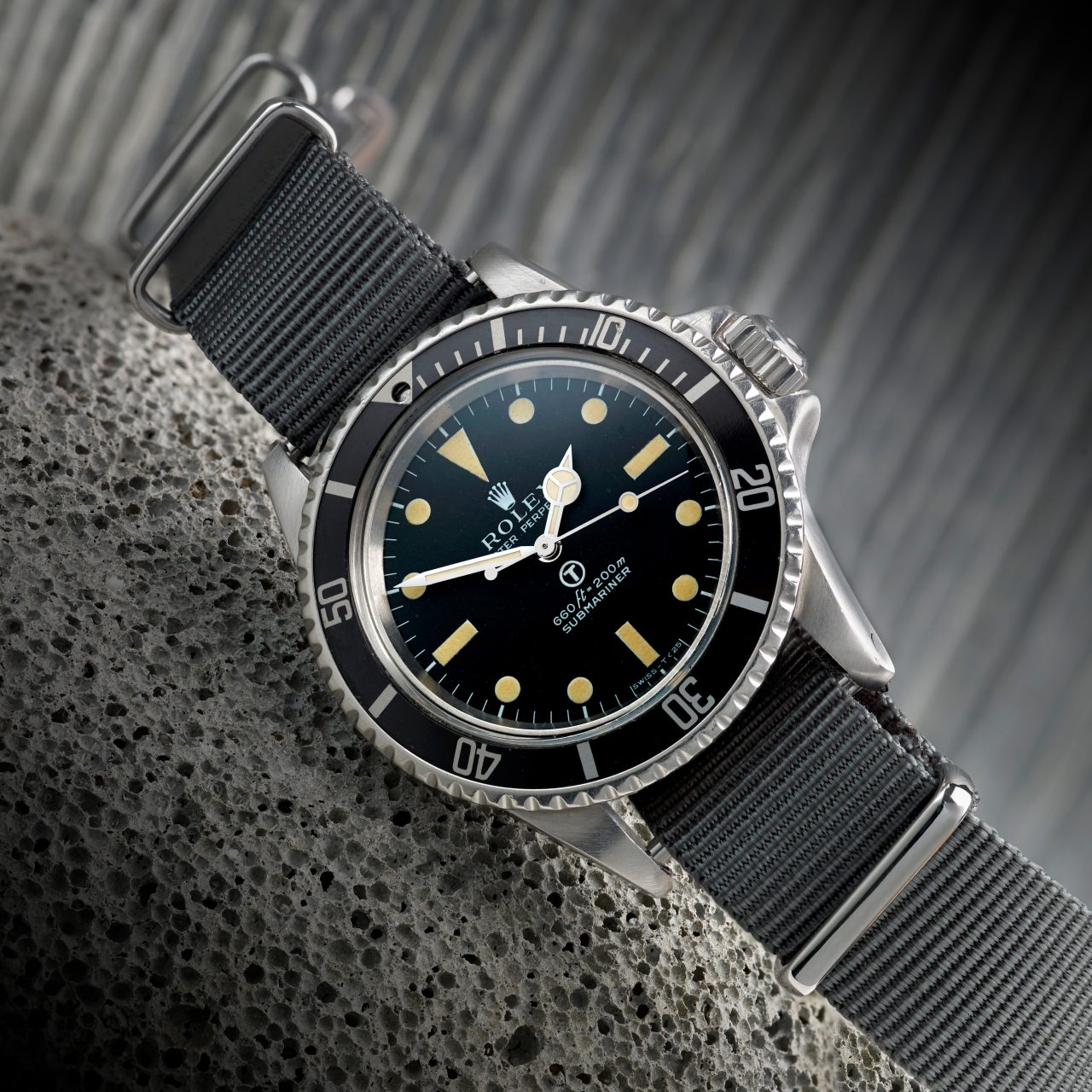 Rolex Military Submariner Designated for British Army Diver Sells for beyond £29,000