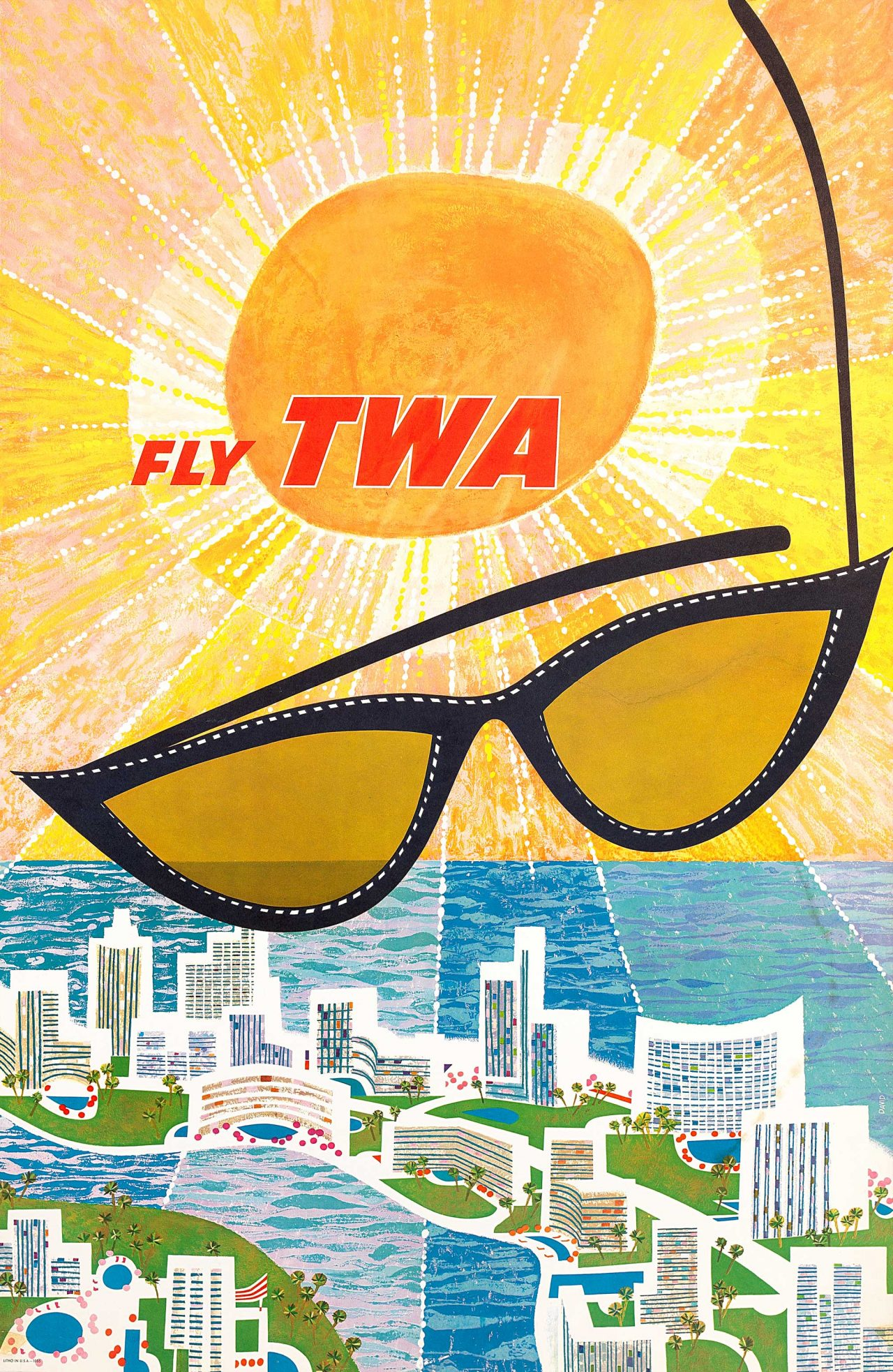 TWA poster
