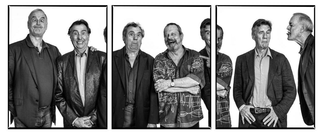 https://www.artsandcollections.com/wp-content/uploads/2021/09/John-Cleese-Eric-Idle-Terry-Jones-Michael-Palin-Terry-Gilliam-Triptych-by-Andy-Gotts-Portrait-Courtesy-of-Maddox-Gallery-1280x537.jpg