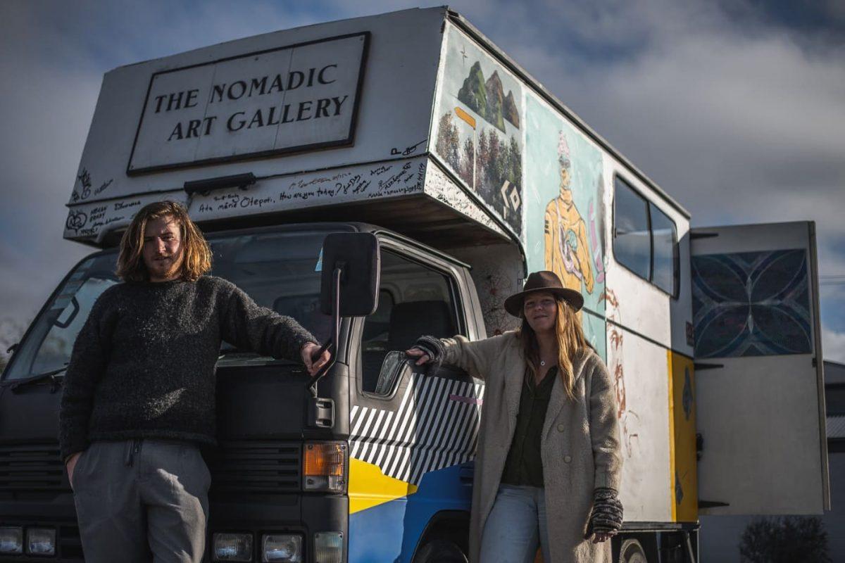 Nomadic Art Gallery Celebrates New Zealand Art Scene