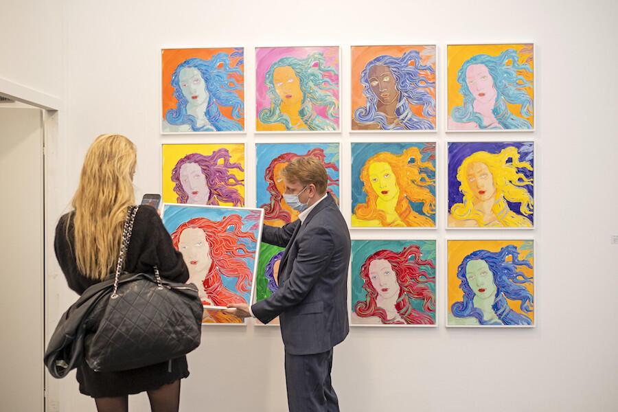 Art World Reunites at Frieze London & Frieze Masters 2021